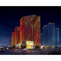 山西仁和鑫光电工程(图)-景观楼体亮化-和顺景观亮化