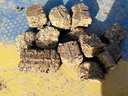 南阳花生壳生物质压块燃料