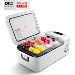 狄卡帕12L车载冰箱车家两用压缩机制冷汽车冰箱便携迷你冰箱