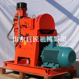 山东巨匠煤矿用坑道钻机立轴式探水探煤层打孔钻机效率真高