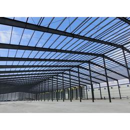 加工制作钢结构厂房框架安装 杰锐厂房工程