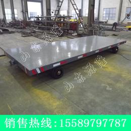源隆定做各种8吨平板拖车 8吨厂区平板车 8吨设备底盘车