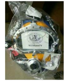 爱瑞斯供大码科比摩根KMB18BKMB28B市政打捞潜水头盔