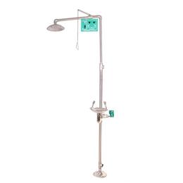 阿克苏BTF11复合式冲淋洗眼器克州不锈钢紧急喷淋洗眼器缩略图