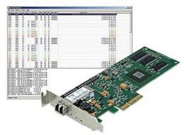 反射内寸卡 光纤实时反射网卡PCIE-5565