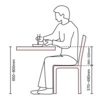 怎样的餐桌椅尺寸才是科学的?