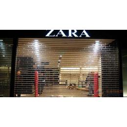 天津和平区卷帘门安装 天津定制商场水晶卷帘门精美设计