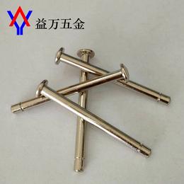 厂家直销  平头铁铆钉  半圆头实心铆钉  非标定做