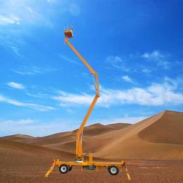 14米曲臂升降机 管?#20848;?#20462;高空作业平台星汉液压举升机 升降车