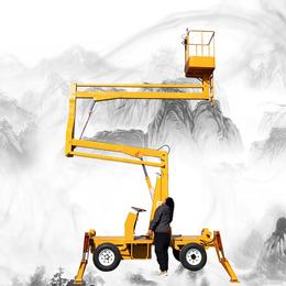14米曲臂升降机 柴油机升降平台 电动液压举升机供应 升降车