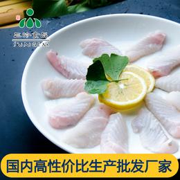 供应新鲜冷冻鮰鱼排 安徽三珍食品开背鱼厂家直销