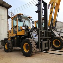 3吨4米3吨5米越野叉车高底盘越野叉车可安装多种属具的叉车