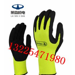 代尔塔201733防割手套乳胶涂层安全防护手套