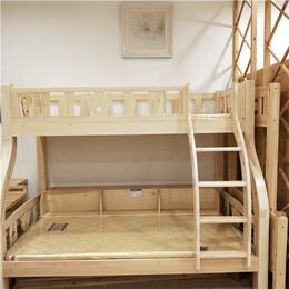 厂家直销实木高低床 松木子母床上下铺床双层 儿童床定制