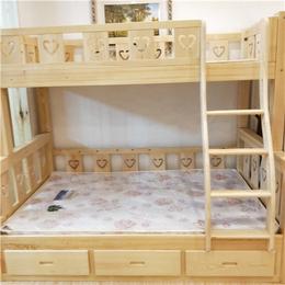 环保子母床 实木双层儿童床 上下铺松木定制可分体母子床上下床