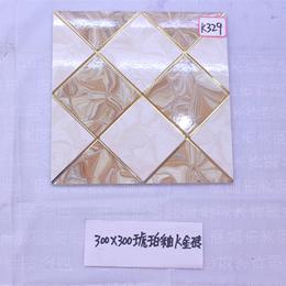 K329江西 家用琥珀釉k金砖