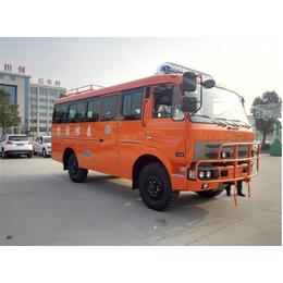 东风四驱越野沙漠客车 矿用山区越野客车 消防运兵客车