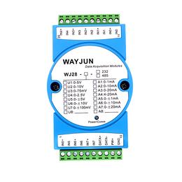 八通道模拟量电压电流信号采集模块