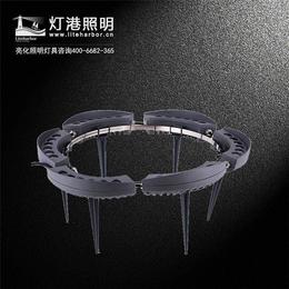 圆形LED抱树灯生产厂家、韶关LED抱树灯、灯港照明(查看)缩略图