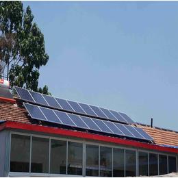 农村家用太阳能光伏发电系统工程中科蓝天光伏太阳能板安装