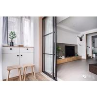 阳台装玻璃推拉门,门框怎么搭配更好看?