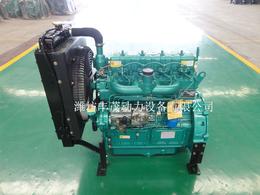 潍坊4100发电系列柴油机配套30KW全铜发电机