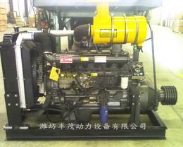 潍坊柴油机6105AZLD配套发电机作100千瓦柴油发电机组
