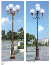 庭院灯 中式欧式现代 支持图样定制 河北利祥供应