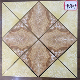 K307花型琥珀釉K金砖缩略图