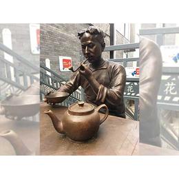 曲靖铸铜雕塑多少钱,曲靖铸铜雕塑,一木雕塑(查看)