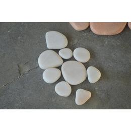 白色彩石 河南彩石子天然 厂家批发 银河供应商为您的生活增色