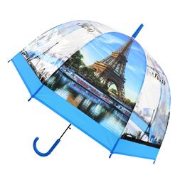 RST外贸出口欧洲埃菲尔铁塔透明加厚阿波罗鸟笼伞