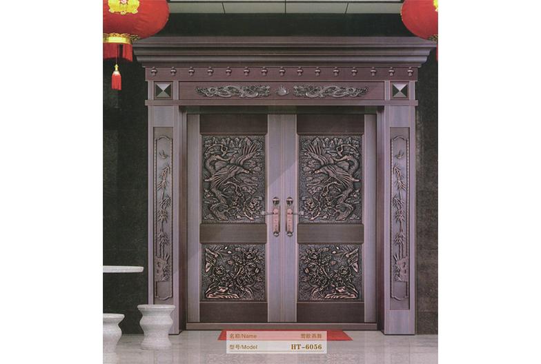 莺歌燕舞系列铜门
