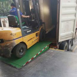 6噸登車橋 貨臺嵌入式升降臺設計 液壓固定調節板安裝