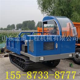 四川爬坡强劲履带运输车 前后驱动履带式拖拉机厂家定制