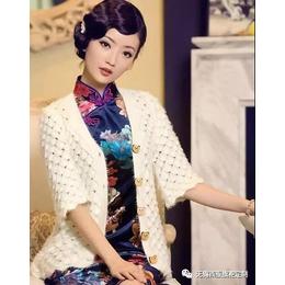 无锡旗袍专定制告诉你不知道的旗袍外套的搭配方法