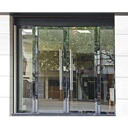 泉州玻璃门|泉州玻璃门专卖店|新塘传伍门业(优质商家)