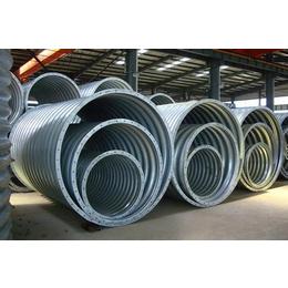 天津西青波纹涵管 钢制镀锌波纹涵管 整圆管波纹涵管厂家供应