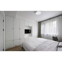 南昌衣柜+电视柜这样组合,实用漂亮又省空间!
