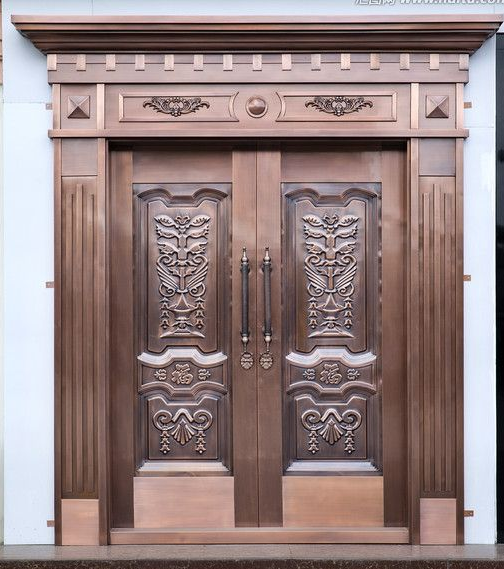 铜门不是别墅的专属,是大众产品