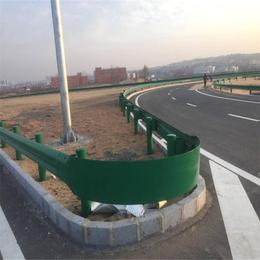 青海世腾防撞栏批发价格厂家直销钢波护栏高速公路波形护栏缩略图
