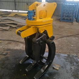 小型挖掘机抓木器 挖掘机夹木器厂家 机械式抓木器挖机抓木器