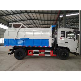 东风10吨脱水污泥运输自卸车厂家报价