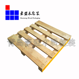 黄岛港口附近二面进叉木托木箱定做厂家
