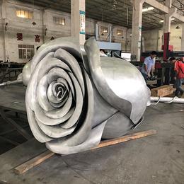 定制玫瑰花造型铝单板 双曲铝单板 氟碳铝单板