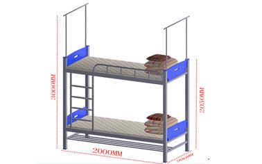 上下层爬梯鞋架组合床