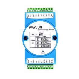 远程数据采集远程IO模块 热电偶信号采集八路