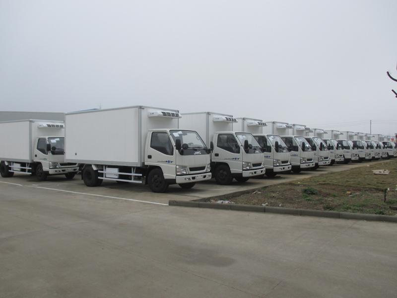 吕梁柳林县农业委员会21台冷藏车