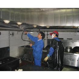 食堂油烟管道清洗-新洲油烟管道清洗-山猫清洁服务