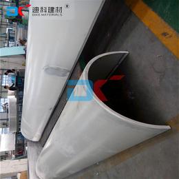 2.5mm包柱冲孔铝单板价格  门头包柱铝单板应用